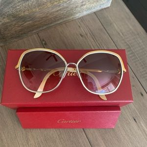 Authentic Cartier Trinity Sunglasses